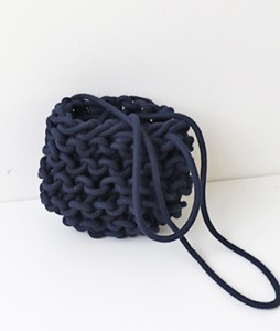 <br> Chain Knit Mini Bag <br><br>