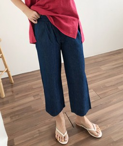 <br> Straight Banding Pants <br><br>