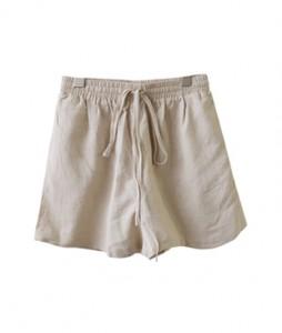 <br> String Linen Banding Shorts <br><br>