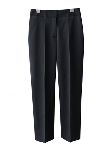<br> Neat Fit Span Banding Slacks <br> [Return can not be replaced]