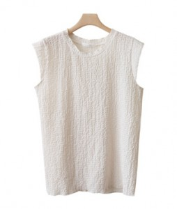 <br> Cool Wrinkle Cap Sleeveless Shirts <br><br>