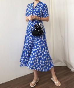 <br> Dot Flower Kara Dress <br><br>