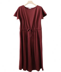 <br> string Cotton Long Dress <br><br>