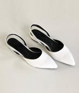 <br> Laura Basic Sling backs Flat (3cm) <br> [Photo accessories sale]