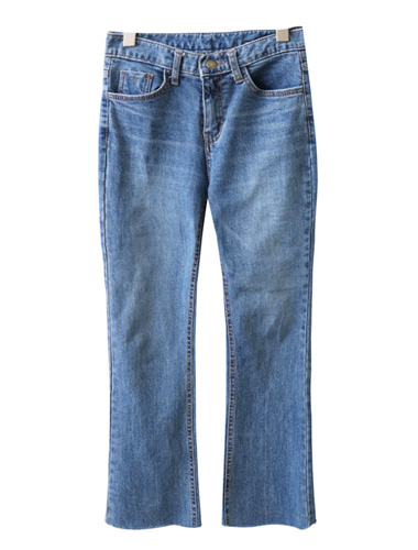 <br> 쫀쫀 Denim Boot cut Jeans <br> [Return can not be exchanged]