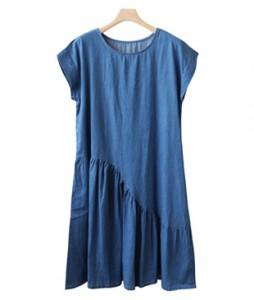 <br> Wave Shirring Soft Dress <br><br>