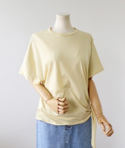 <br> unique Unfooted Knot Tee <br> [Return can not be replaced]