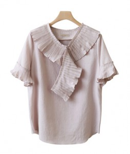 <br> Soy Pleats Kara Blouse <br><br>