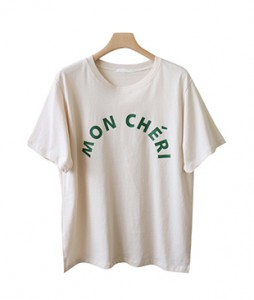 <br> Ed Lettering Tee <br> [Return can not be replaced]