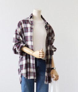 <br> Becky Check Shirt <br><br>