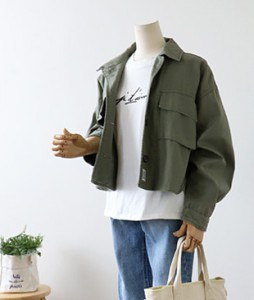 <br> Two pocket Mini field jacket Jacket <br><br>