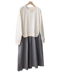 <br> Man to man color combination Dress <br><br>
