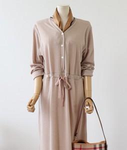 <br> Creamy string Knit Dress <br><br>
