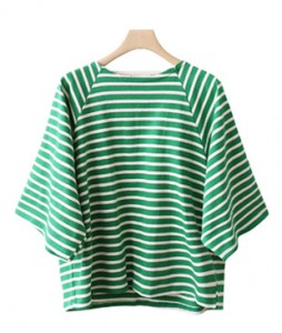 <br> Wide Sleeve Tangara Tee <br> [Return can not be replaced]