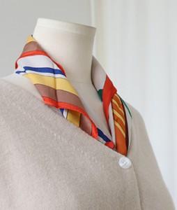 <br> Silk horse square scarf <br><br>