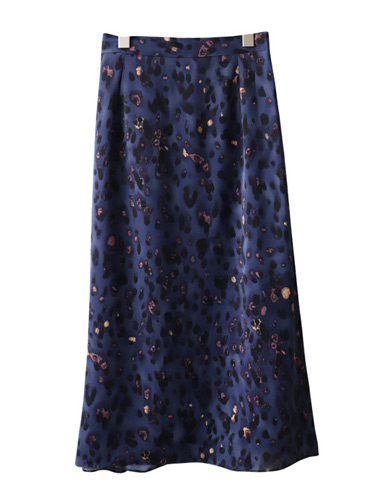 <br> Luna Printed Back Banding Skirt <br> <b><font color=#253952>The skirt first place product</font></b>