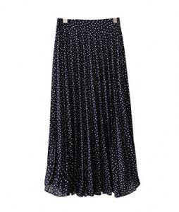 <br> Jenny Wrinkles Dot Skirt <br><br>