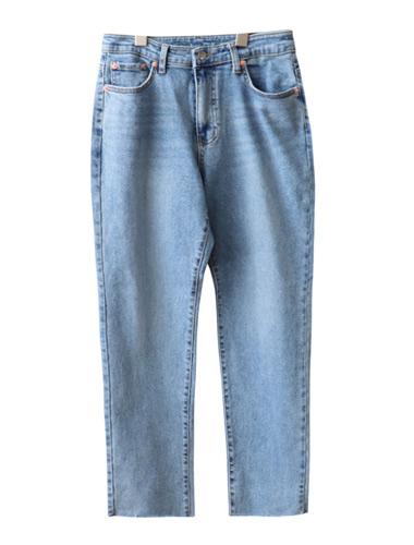 <br> Trendy Semi Baggy Denim Pants <br><br>