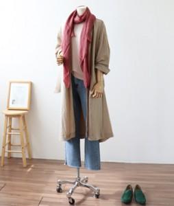 <br> Lightweight Windbreak Long Coat <br><br>