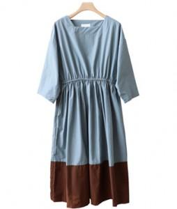 <br> Square color combination Banding Dress <br><br>