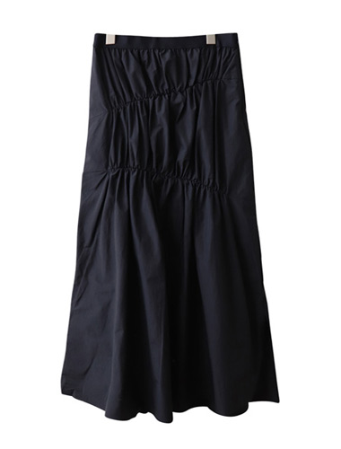<br> Line Pretty Shirring Banding Skirt <br><br>