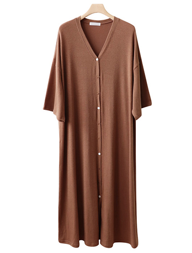 <br> Nice loose fit Boxy Long button dress <br> <b><font color=#253952>Dress 5th place</font></b>
