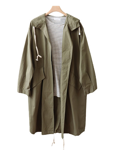 <br> Soft Hood field jacket jumper <br> <b><font color=#253952>Outer fifth place product</font></b>