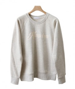 <br> nagrang lettering Man to man Tee <br><br>
