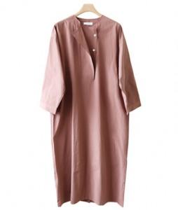 <br> Padded Cotton Boxy Dress <br><br>