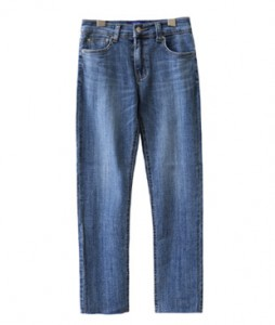 <br> Slim Fit Vertical Denim Pants <br><br>