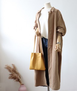 <br> Trendy Trench Long Coat <br><br>