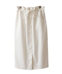 <br> Hidden Button Waistband Skirt <br><br>