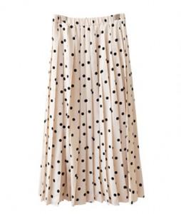 <br> Pleats Zandort Skirt <br><br>