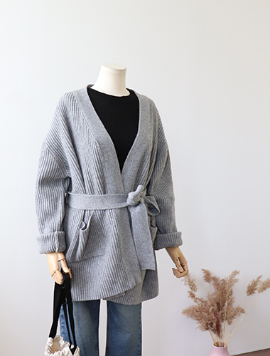 <br> Royal Open String Cardigan <br> [Return can not be exchanged]