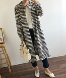 <br> Pocket Check Boxy Dress <br> [Return can not be exchanged]