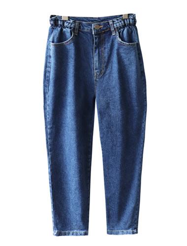 <br> Side Banding Denim Baggy Pants <br> <b><font color=#253952>The pants first place product</font></b>