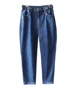 <br> Side Banding Denim Baggy Pants <br> <b><font color=#253952>The pants first place product</font></b>
