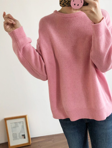 <br> pastel Round Knit <br><br>