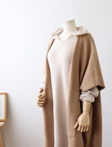 <br> Merino Wool Long Shawl Cardigan <br><br>