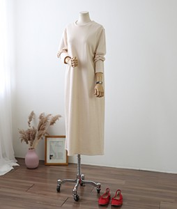 <br> PK Basic Long Dress <br> [Return can not be exchanged]