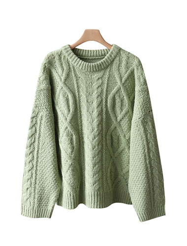 <br> Dot Twiddle Wool Knit <br> <b><font color=#253952>Knit fourth place product</font></b>