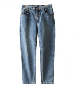 <br> clean back bending Straight Jeans <br><br>