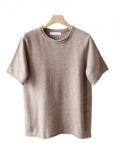 <br> Stone Stone Wool Short-sleeve Knit <br><br>