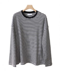 <br> color combination Stripe Tee <br><br>