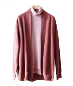 <br> Goqual raccoon Wool Shawl Cardigan <br><br>