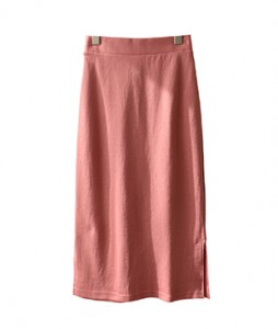 <br> Soft Cotton Back Banding Skirt <br> [Return can not be exchanged]