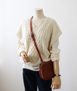 <br> v Twiddle Knit Vest <br><br>