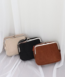 <br> Corduroy cross Mini Bag <br><br>