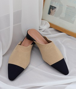<br> Fabric slippers <br><br>