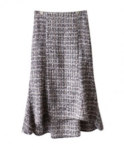 <br> Unfoot Mermaid Tweed Skirt <br><br>